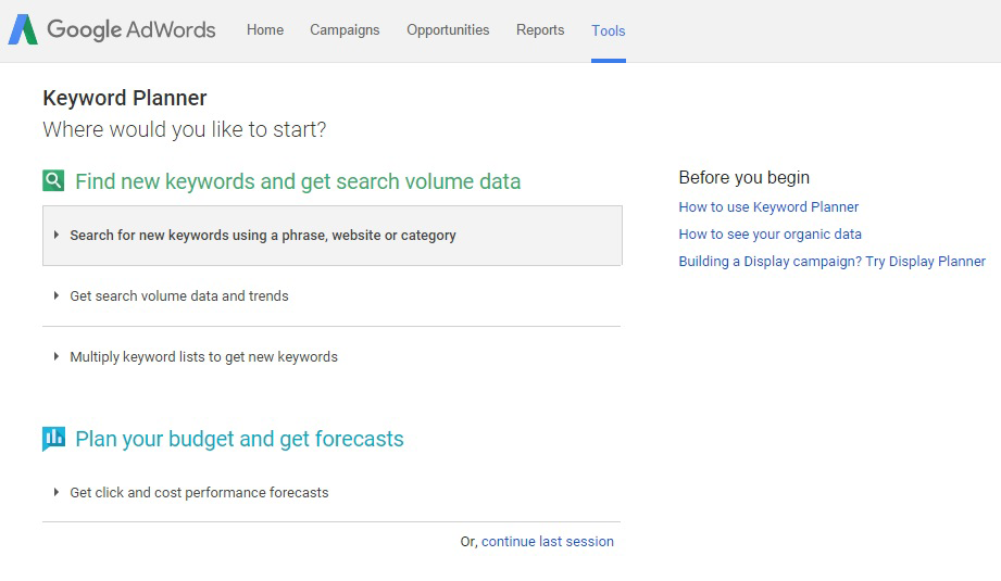 Google Adwords Get New