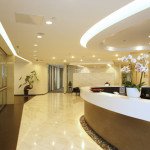 Reception Area - serviced office Beijing