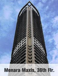 Menara Maxis, 36th - Kuala Lumpur Serviced Offices