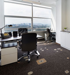serviced office klcc